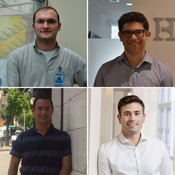 Four LCM students speak about their summer internships (banner image).