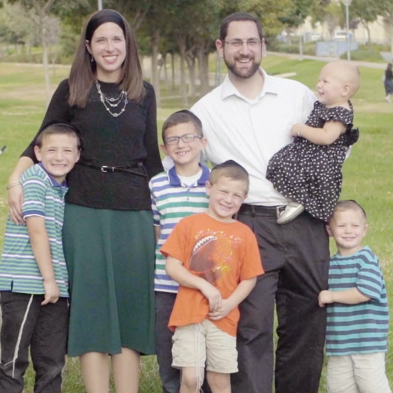 Dr. Daniel Fruchter practices and his family in Israel.