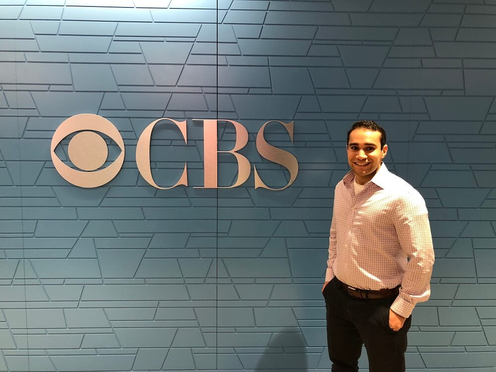 LCM student Joel Friedman spent his summer in the accounting department of CBS.