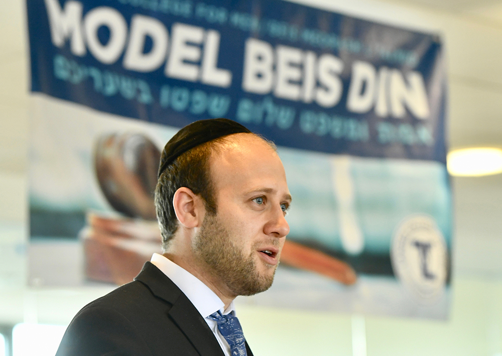 Rabbi Aryeh Manheim, Model Beis Din organizer